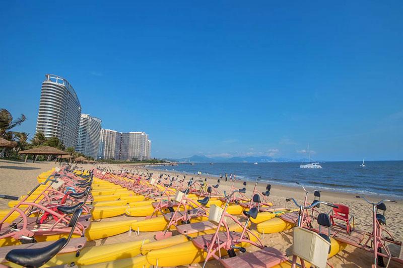 碧桂园十里银滩维港湾实景图