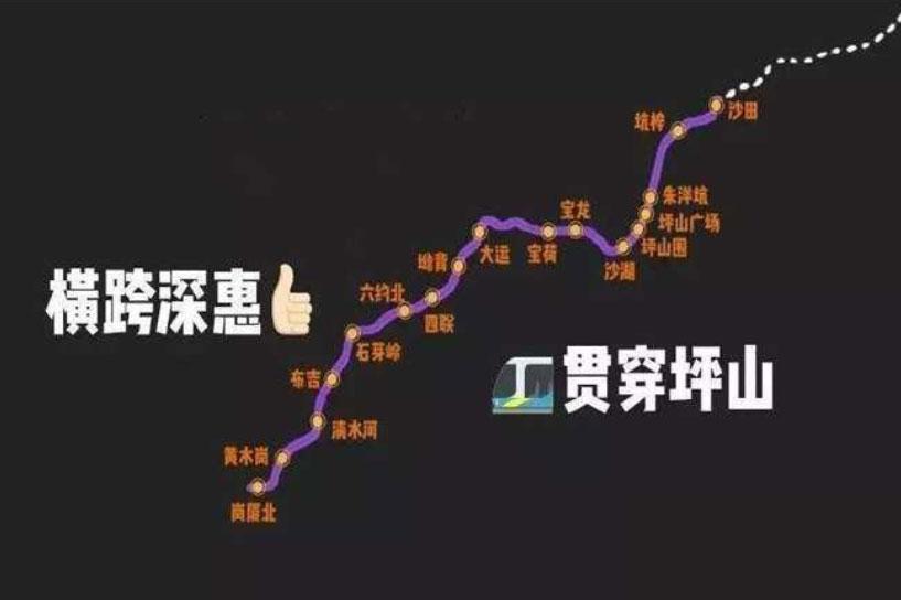 深圳14号地铁什么时候通车?沙田站附近有什么楼盘?