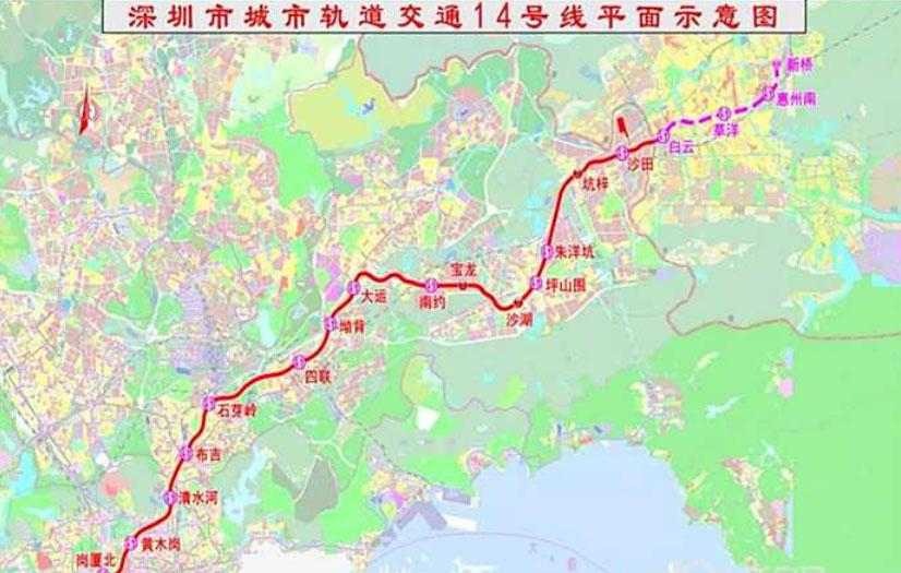 深圳地铁14号线,对惠州楼市有什么影响和带动?