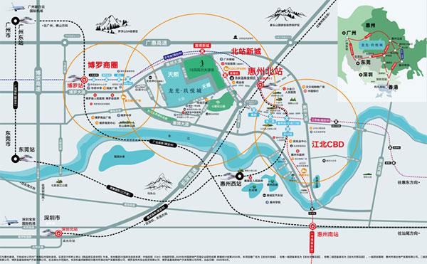 龙光玖悦城离高铁站有多远
